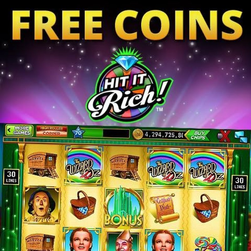 hit it rich casino slot freebies for hit