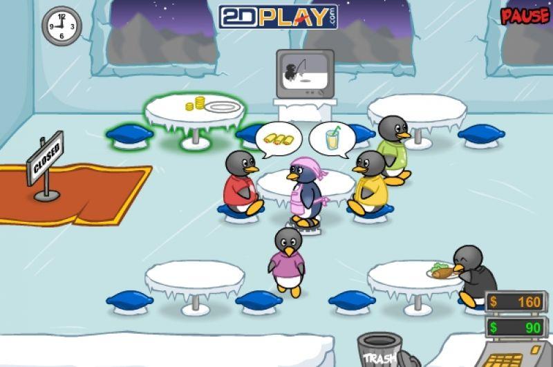 free online games penguin diner 2 in fupa
