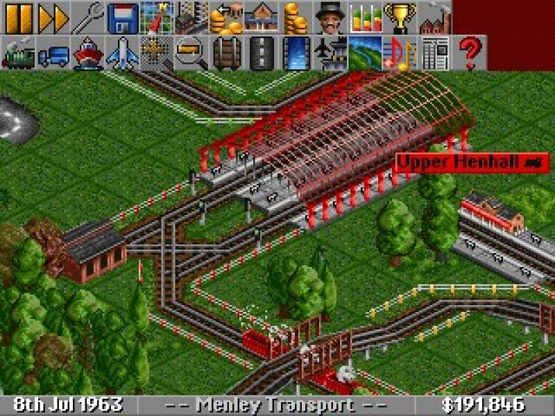 Transport Tycoon Deluxe - Freegamearchive.com