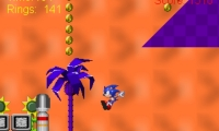 Sonic Blast In Time Zone 1