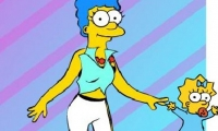 Marge Simpson Dress Up Game