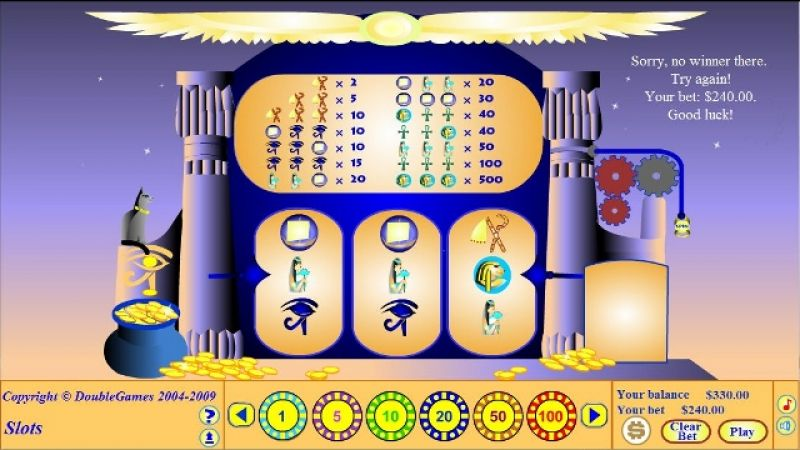 Egyptian Dancer Slot - Review and Free Online Game