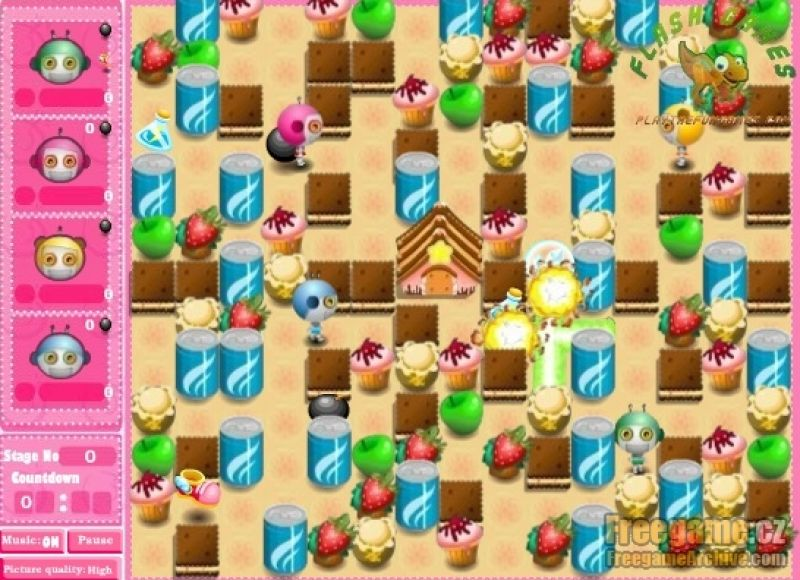 cute bomberman freegamearchivecom
