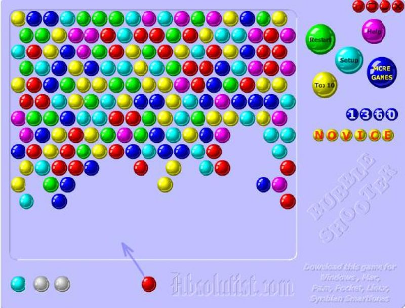 free online bubble shooter