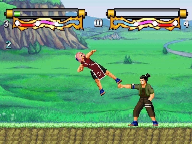 скачать игру Mugen Naruto - фото 4