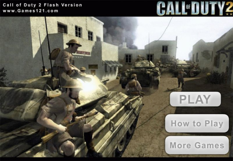 call of duty flash game