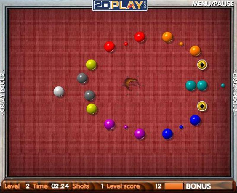 crazy pool 2 freegamearchivecom