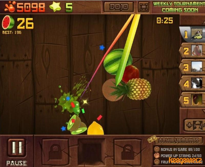 online games fruit ninja