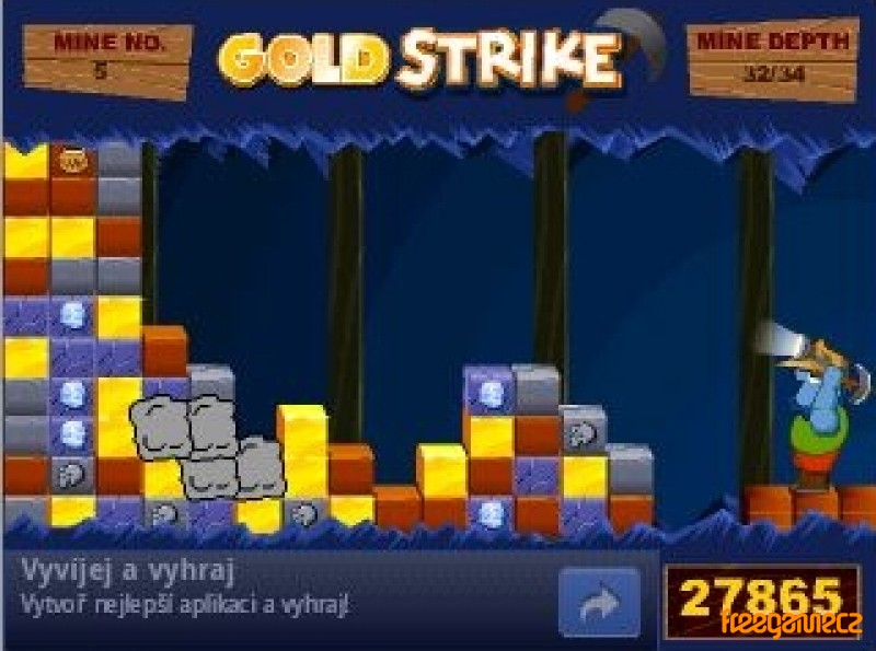 gold miner strike