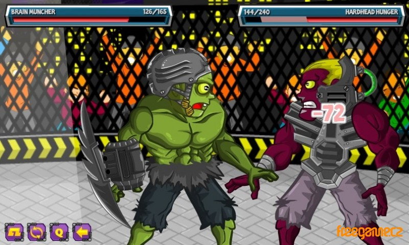 zombie fight club freegamearchivecom