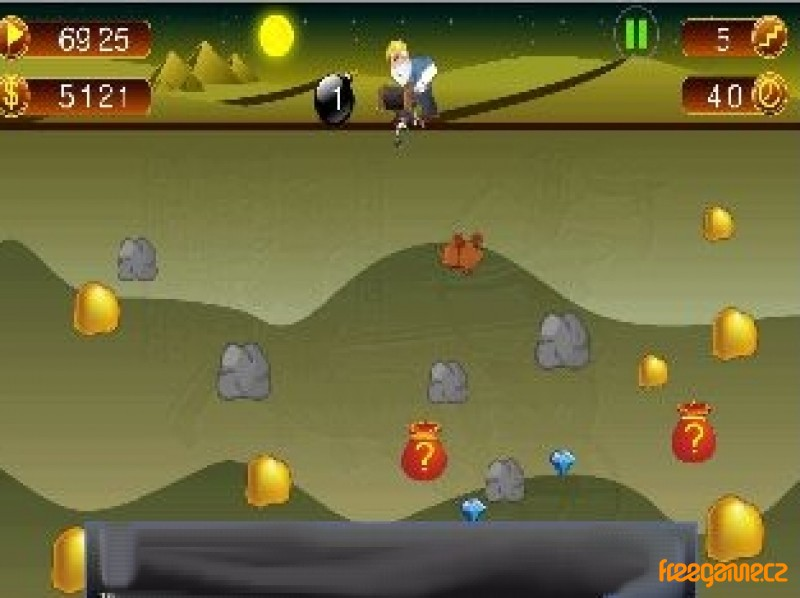 play gold miner 2