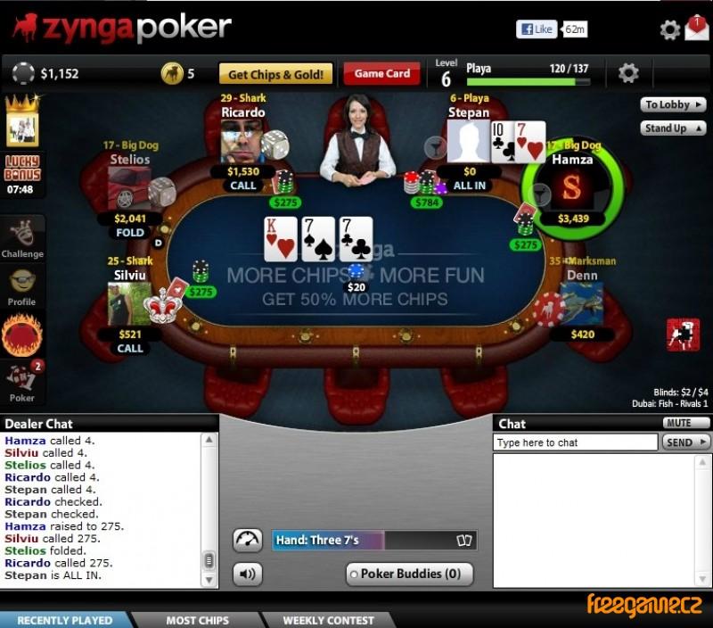 Poker search database