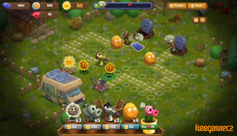 plants vs zombies adventures play for free