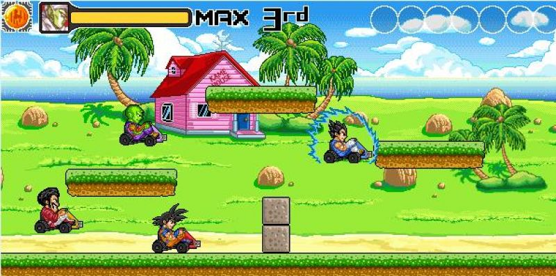 dragon ball kart freegamearchivecom