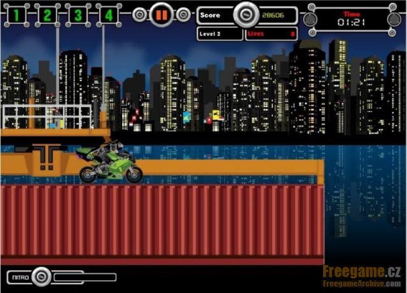 Nitro Ninjas - Free Online Game - Start Playing
