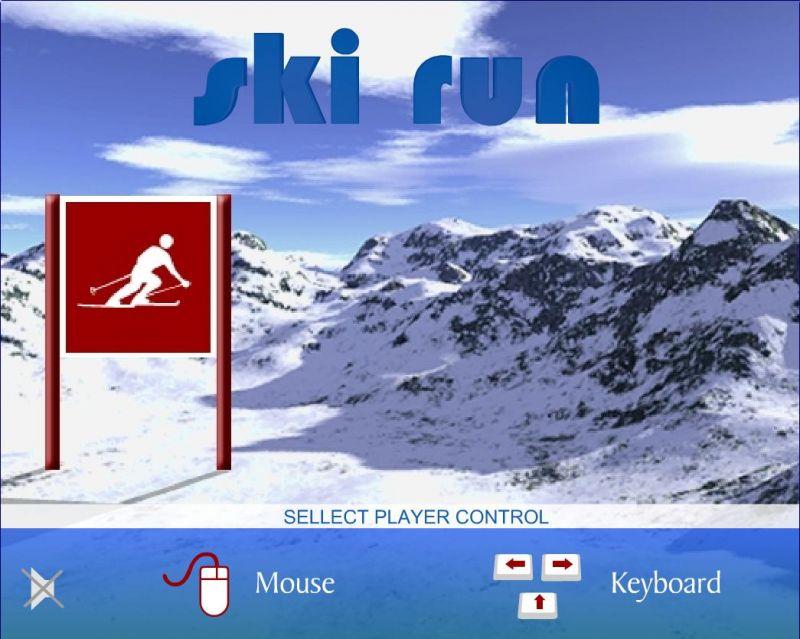 ski run game