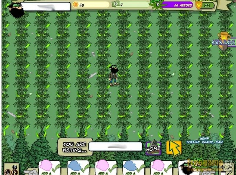 free pot farm game