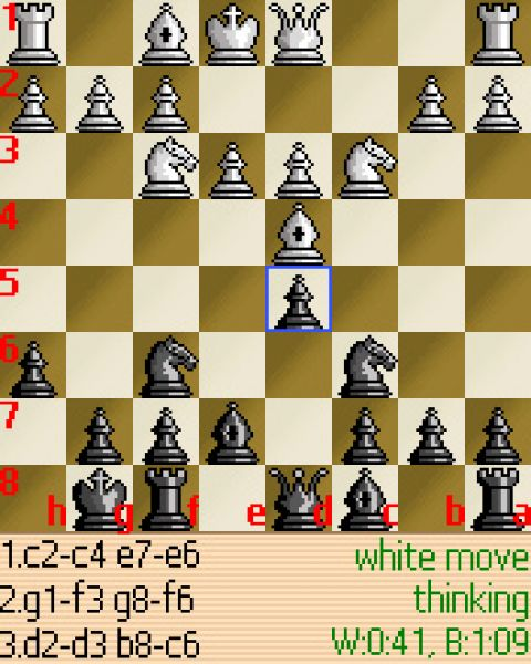 Mobile Chess - java game for mobile Mobile Chess free