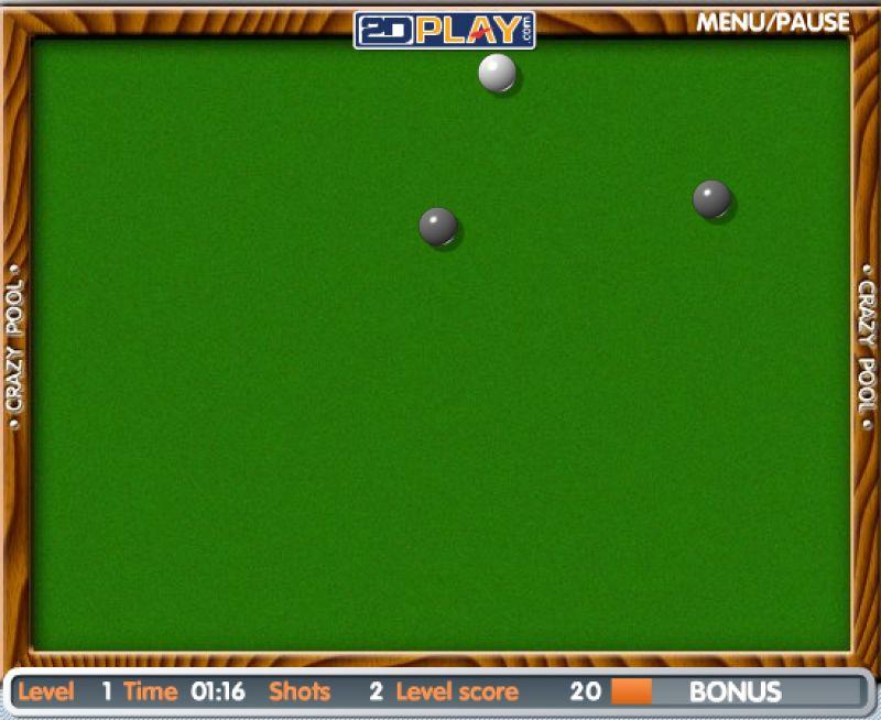 crazy pool freegamearchivecom