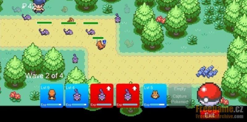 free online games pokemon tower defense