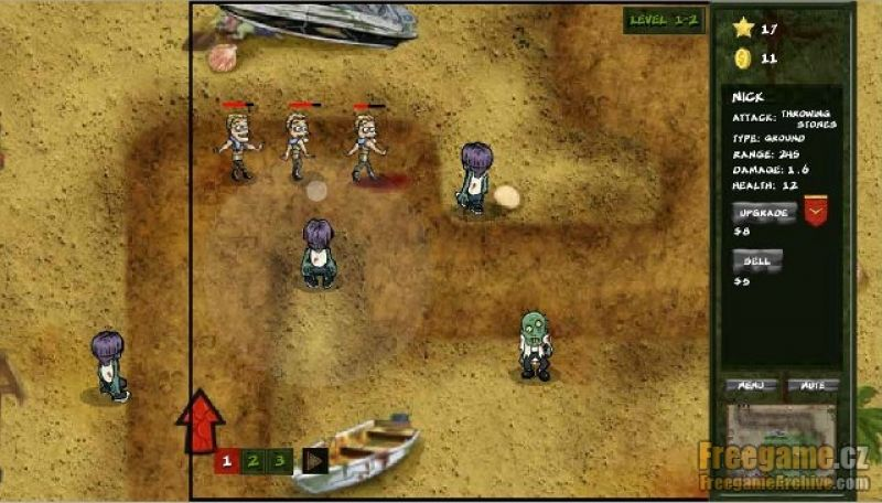 maho vs zombie freegamearchivecom